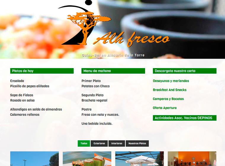 Gastro Bar Alhfresco