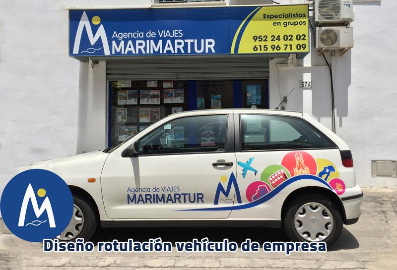 Rotulación de vehiculo. Malaga