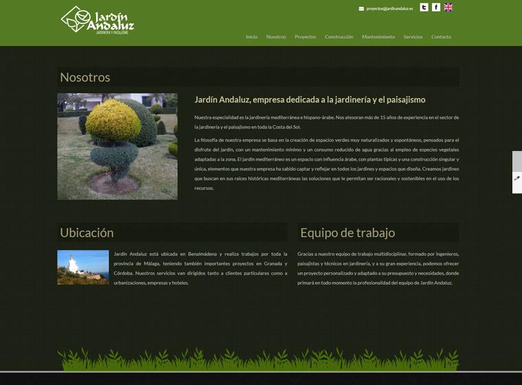 Jardin andaluz jardiner a y paisajismo hippoi dise o for Jardin andaluz