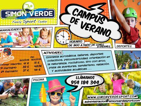 Flayer para Simón Verde Sport