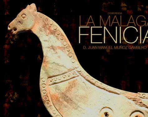 Cartel Conferencia Malaga Fenicia